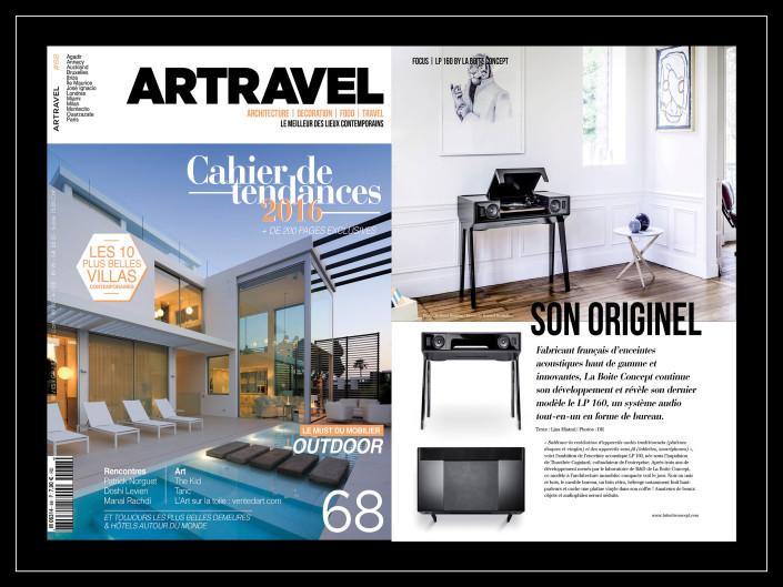 Artravel - La Boite concept - Avril/Mai 2016