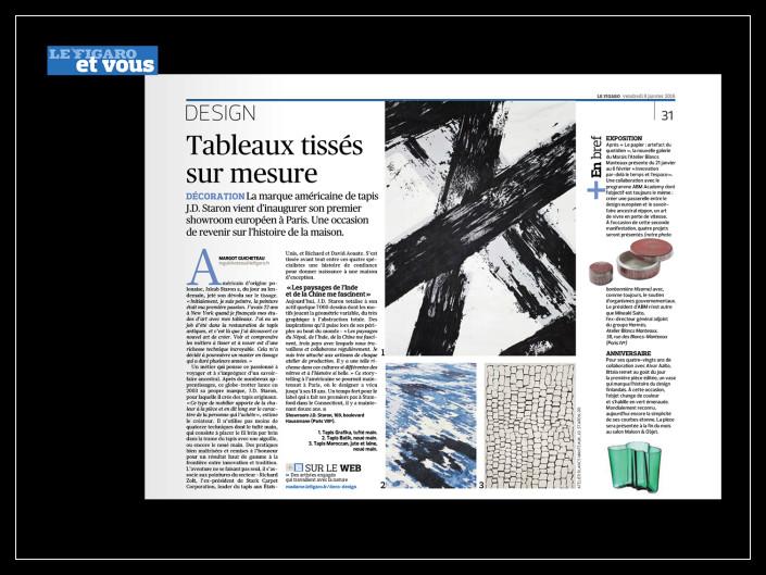 Le Figaro Et Vous - J.D.Staron - 8 janvier 2016