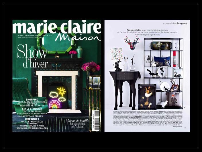 Marie Claire Maison - ibride - Décembre 2015/Janvier 2016