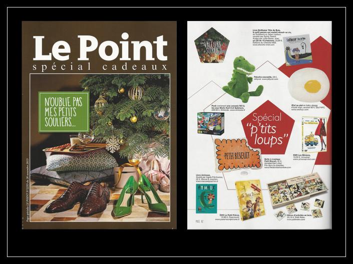 Le Point Supplément Cadeaux - Marcel & Joachim - 25 novembre 2015