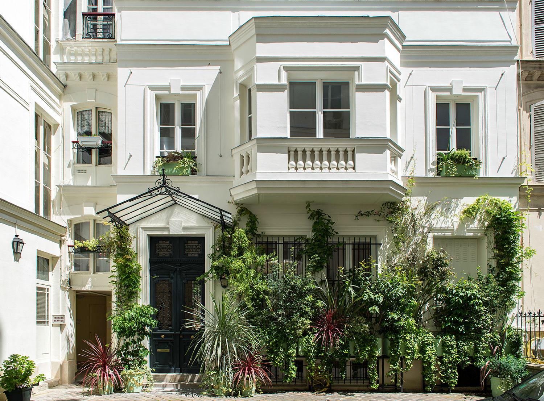Villa+Rose,+vue+depuis+la+cour
